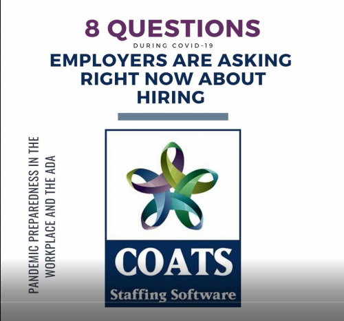 10 questions employers are asking about hiring, legally, during the Covid-19 Pandemic